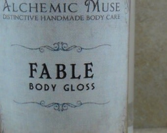 Fable - Body Gloss - Wild Strawberry, Woodland Rose, Enchanted Woods - Limited Edition