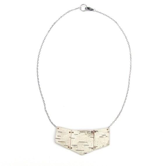 Birch Bark Necklace