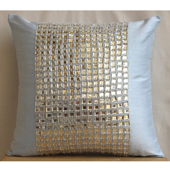 Thehomecentric Decorative Euro Sham Covers Accent Couch Pillow 40 Unique Bling Decorative Pillows