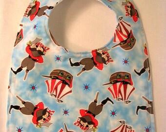 CLEARANCE 25% OFF SALE Baby Bib Pirate, Baby Boy Shower Gift Baby Bibs Toddler Bib - Ready to ship