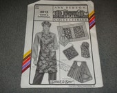 Cooks Collection with Apron by Ann Person 4015 UNCUT NEW