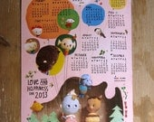 PACK of 2 x (2013 paper wall calendar) Order now - shipping in early JANUARY