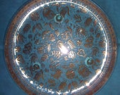 SALE! Mid-Century Georges Briard Persian Garden Serving Plate