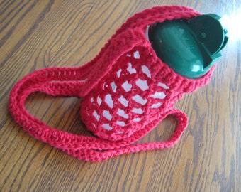 Crochet Water Bottle Holder or Carrier