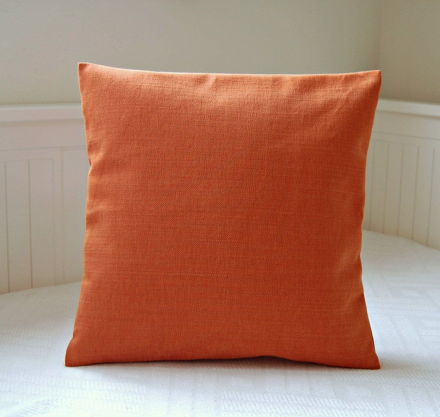 plain burnt orange accent cushion cover solid pillow cover 16