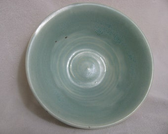Small Frosty Green Porcelain Bowl RKC104