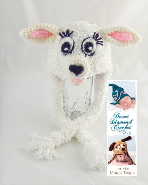 Crochet Pattern 080 - Little Lamb Hat