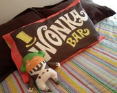 Wonka Bar Pillowcase