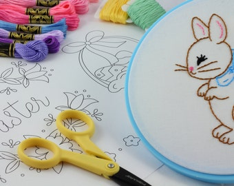 Easter Embroidery Pattern hand embroidery Easter Embroidery Design