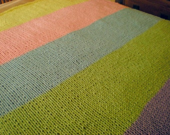 Pretty Colors Afghan