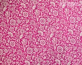 Liberty of London Tana Lawn Bright Pink Clare & Emily 100% Cotton Craft Fabric Sold by the Fat Quarter Piece