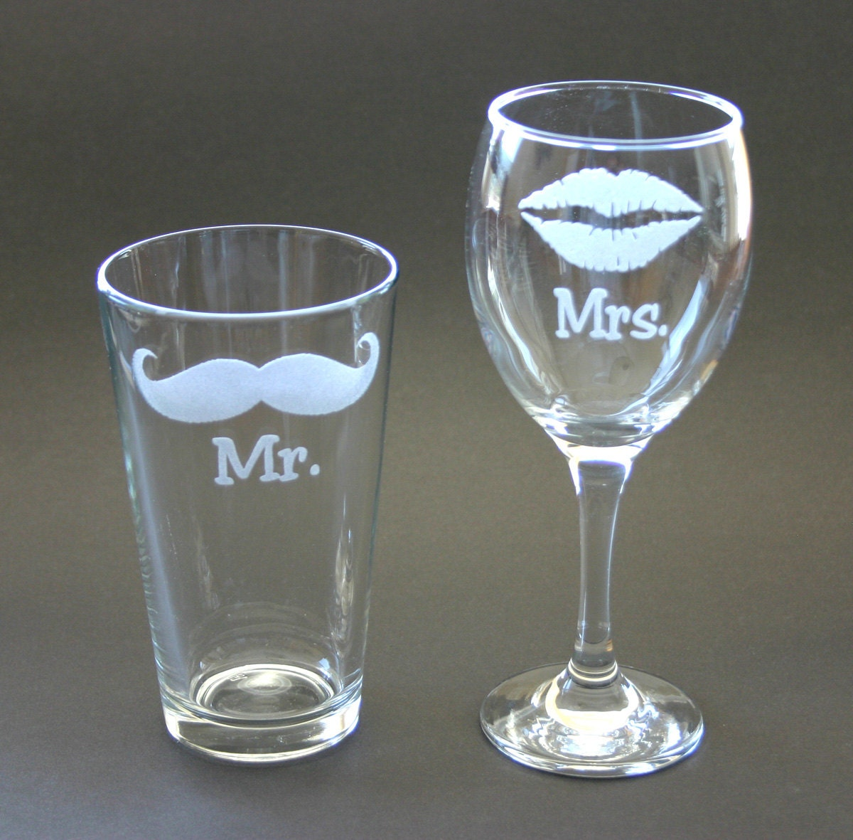 Etsy His And Hers Glasses