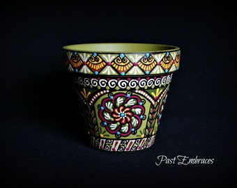 Spring Pysanka Designs Pottery