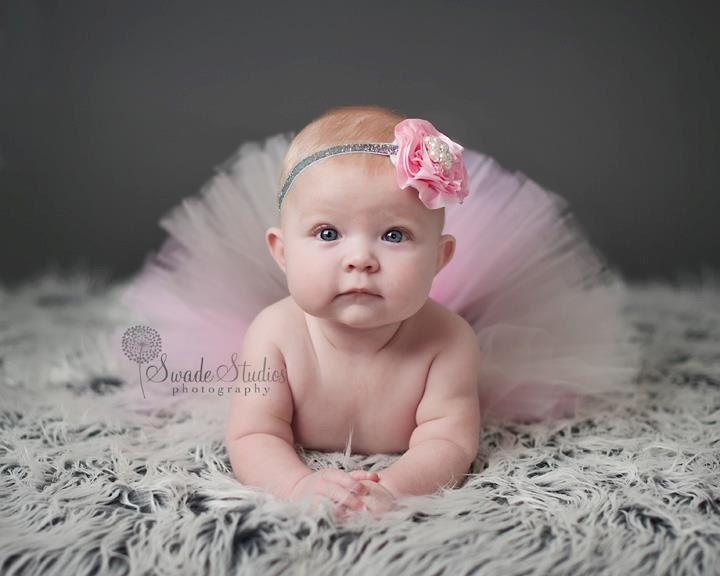 valentine photo shoot ideas for babies - Baby tutu Selena Cream Pink gray Birthday by