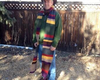 Fleece Season 12 Doctor Who / Dr. Who Scarf - 12 Feet Long