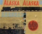Vintage 1939 Alaska Railroad Travel Guide