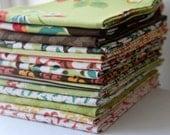 Moda Urban Chiks Blossom Fabric Fat Quarter Bundle 14 OOP