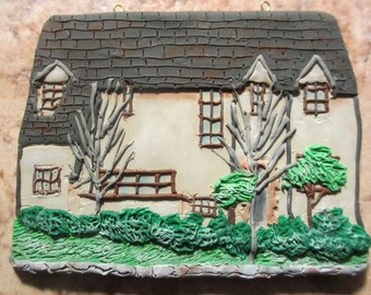 Custom Home Ornament -  Hand Sculpted - Architectural and Landscape Detail