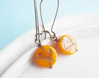 Bird Earrings - Clementine - Tweet
