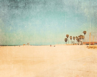 Beach Photography, California Photography, Los Angeles Photography, Venice Beach, Sand, Ocean, Beach Decor, Wall Decor - Beach Pop Love