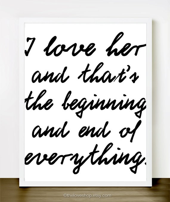 i love her in classic black and white inspiring by theloveshop