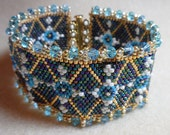 "Czarina  Bracelet   -    March ETSY ""Faberge  Egg"" contest"