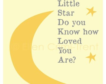 Kids Wall Art- Twinkle twinkle little star