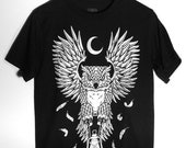 Owl Shirt - Owl Graphic Tee for Men