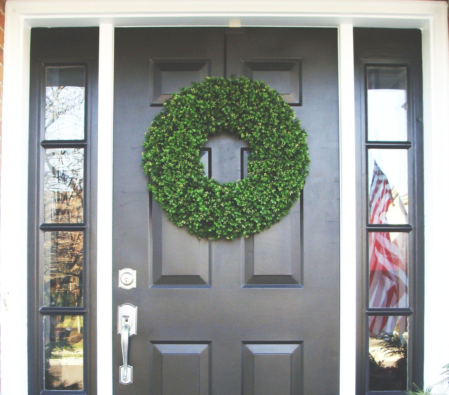 Year Round Wreath Front Door Decor Outdoor By Elegantwreath