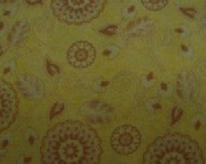Avlyn Ranchero Yellow Paisley and Bandanna western fabric yardage