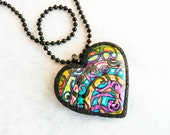 Crazy Heart Polymer Clay Tutorial