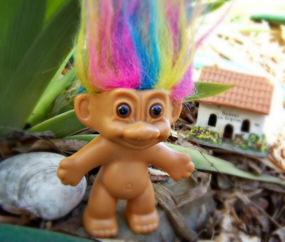 White haired naked trolls