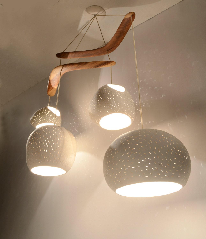 Chandelier lighting: CLAYLIGHT BOOMERANG XL