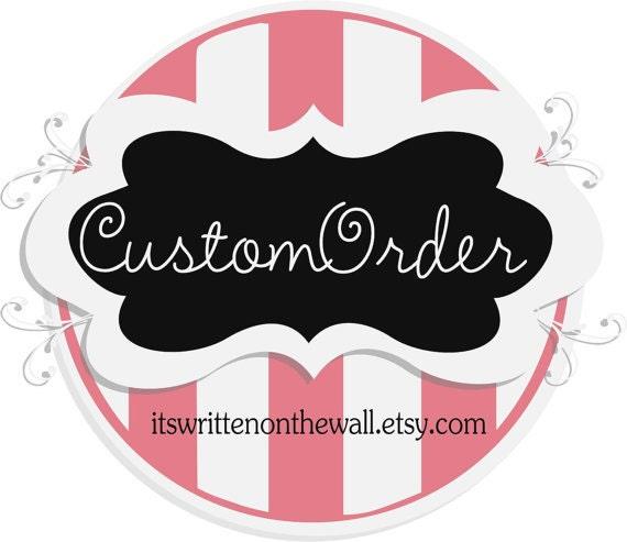 Custom Order for deejai15