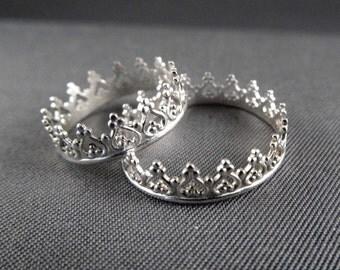 princess crown ring etsy