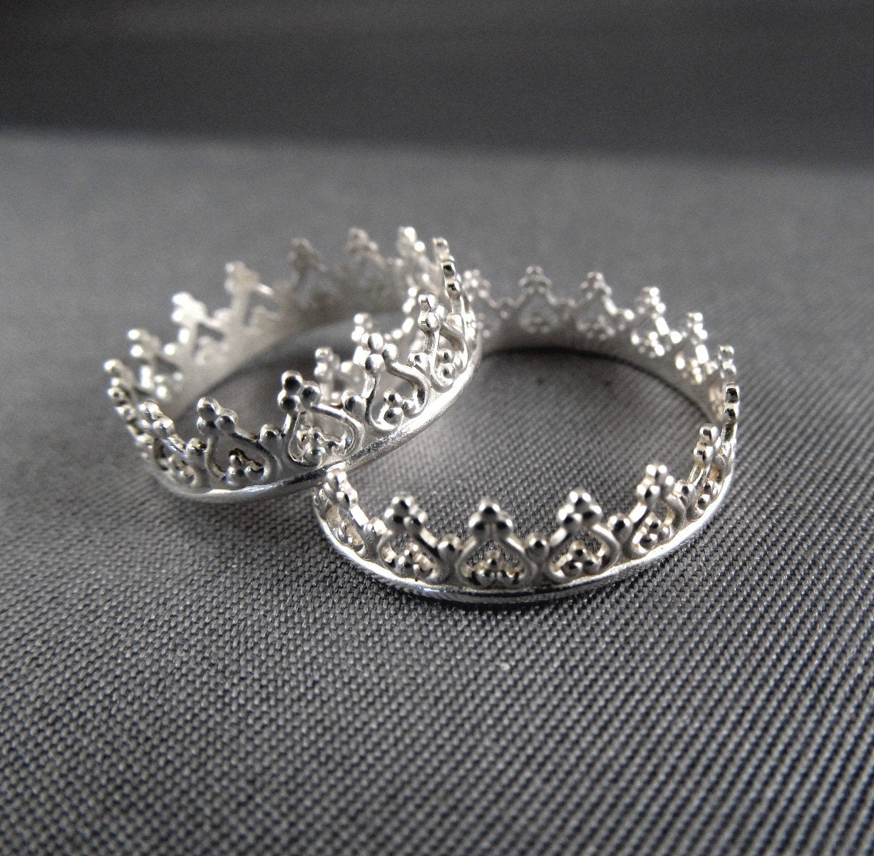 princess crown ring tiara ring let them eat cake