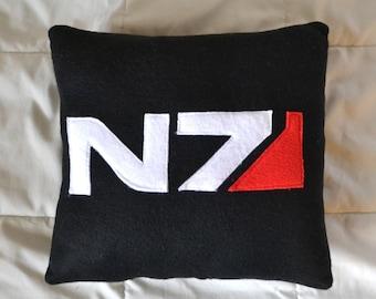 Mass Effect N7 Logo Pillow