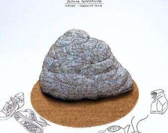 Stone beanbag - granite large - Free shipping world-wide