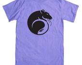 Rat T-shirt  - Color: Lavender