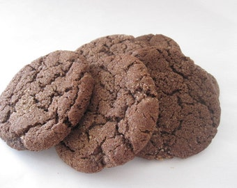 GLUTEN FREE Mexican Chocolate Cookies, 1/2 dozen