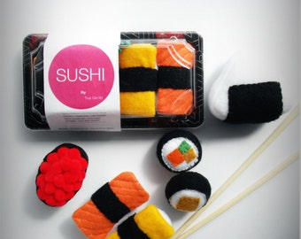 Play Felt Food Sushi Take Out
