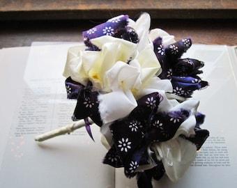 Vintage Fabric Wedding Bouquet