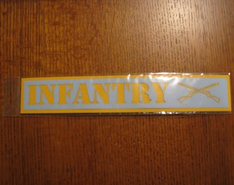 US Army Infantry Scrapbook Page Title or Die Cut