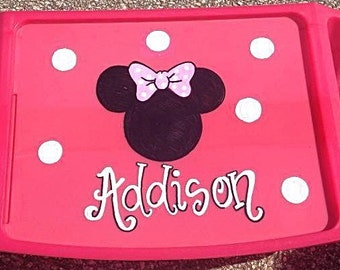 Personalized Lap Tray-Minnie Mouse