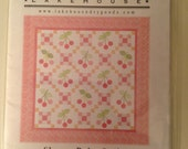 Lakehouse Cherry Baby Quilt pattern