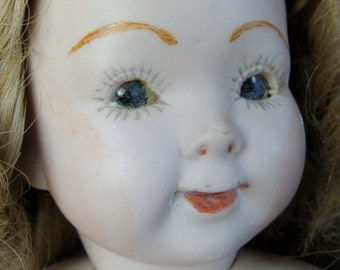 Antique Rare French Doll Head