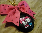 Hello Kitty and Dear Daniel in Love Necklace