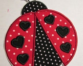 Iron On Applique - Ladybugs - All Variations -- SHIPS FAST