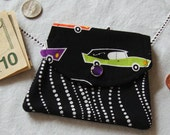 Small 3 Pocket Eerie Alley Hearse Wallet