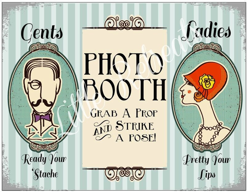 Photo Booth Props Template Signs Photo Booth Prop